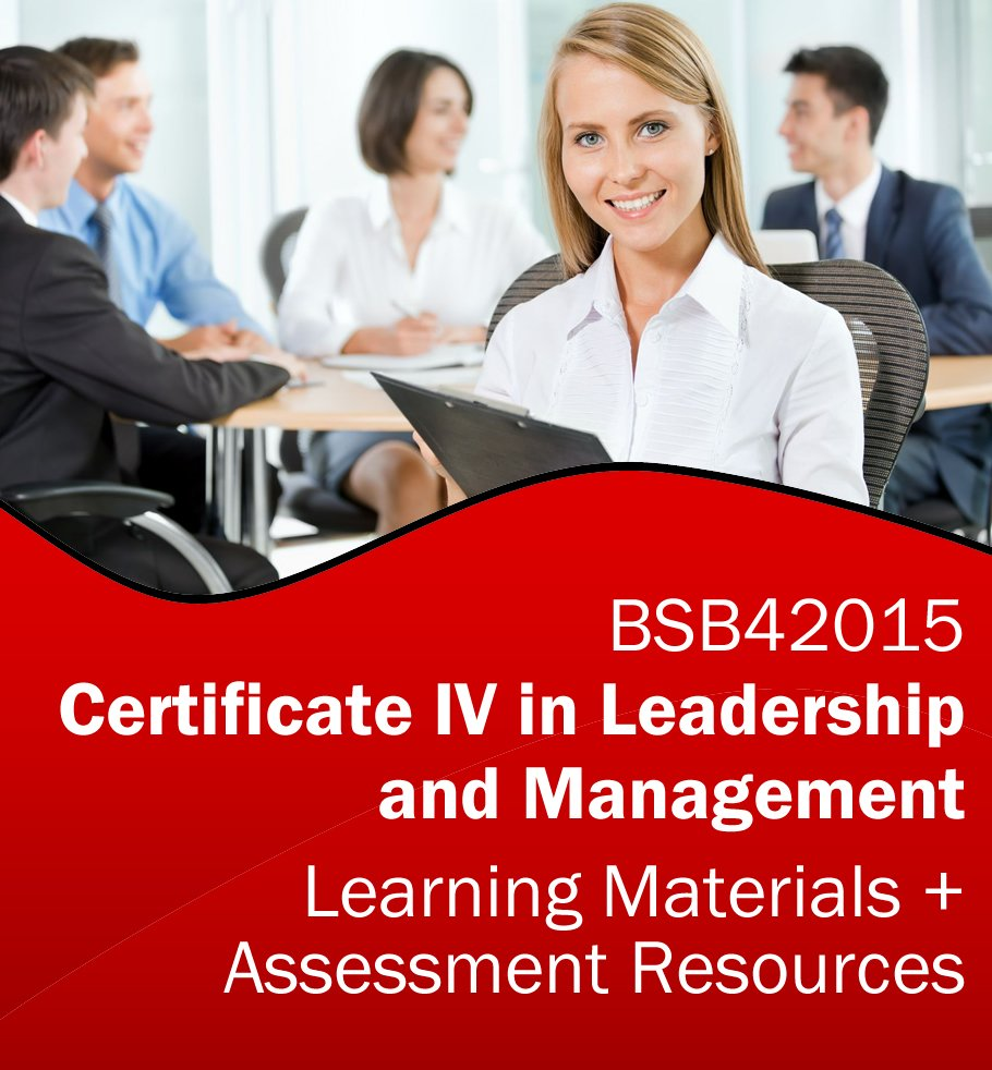 Certificate iv in project management rto learning resources and bsb42015 certificate iv in leadership and management learning resources and assessment tools bundle xflitez Image collections